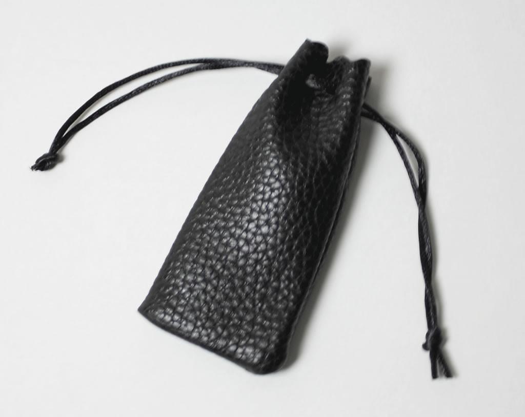 個人認印 琥珀(寸胴) 12.0mm ソフトケース付き